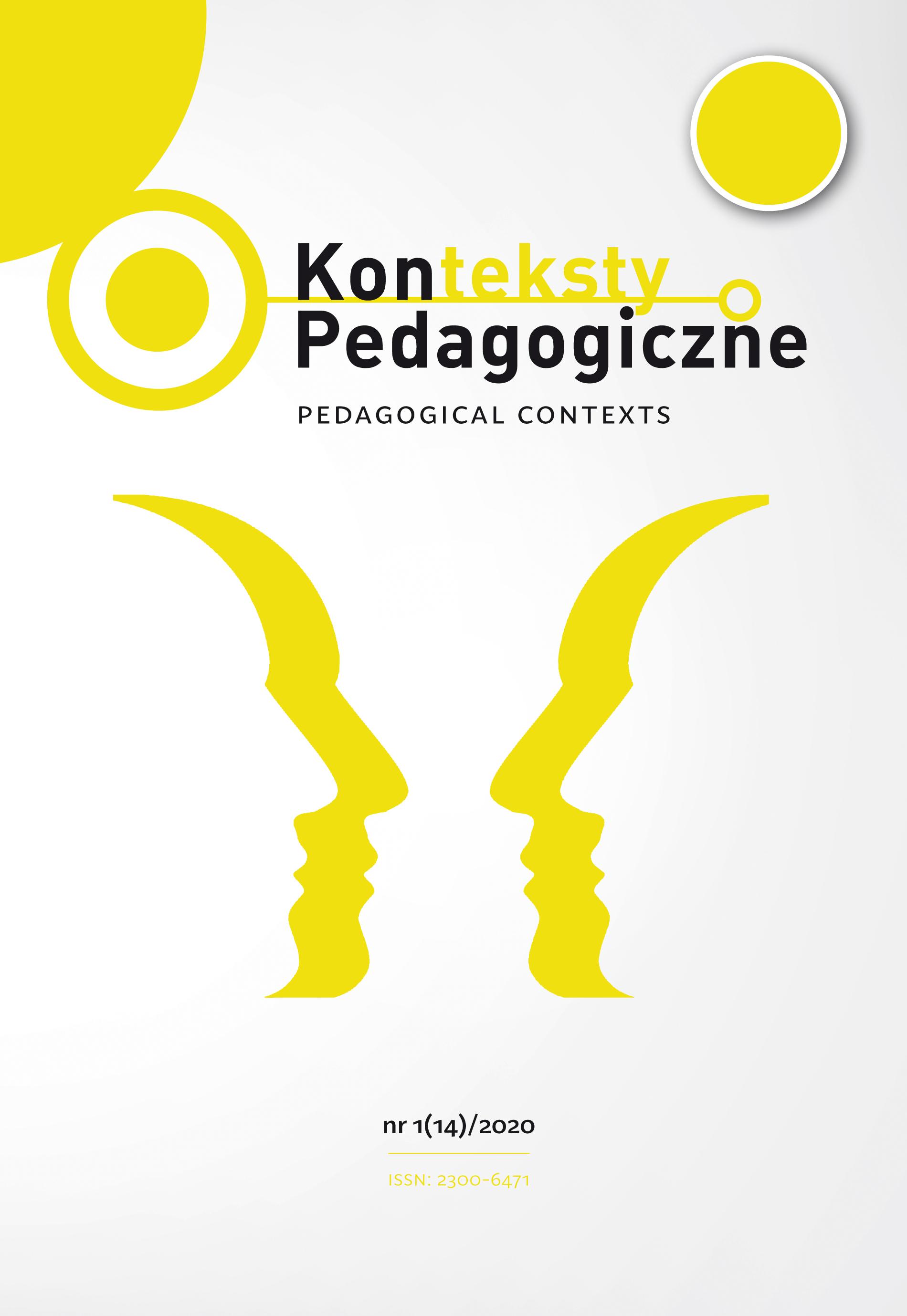 Konteksty Pedagogiczne nr 1(14)/2020