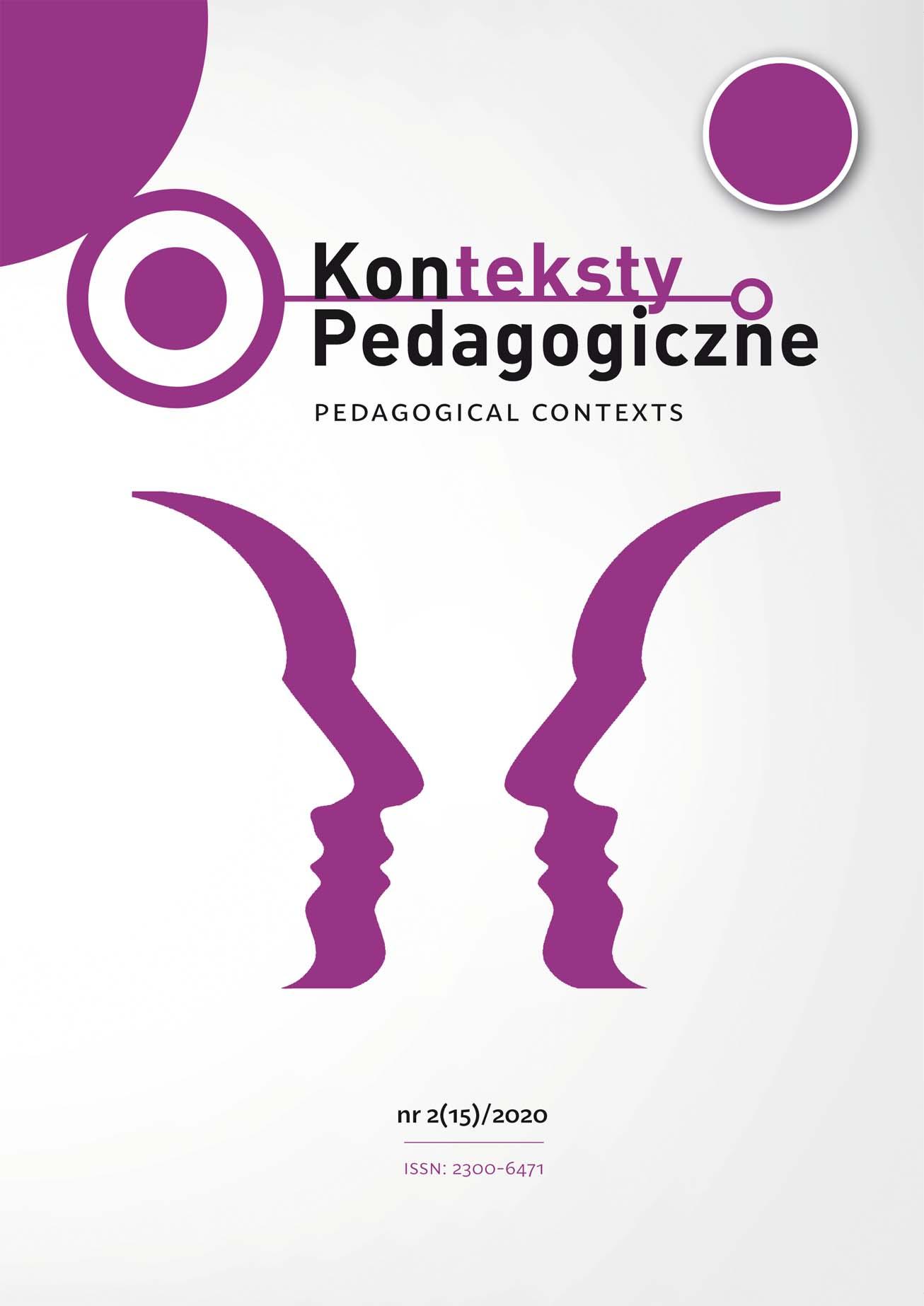 Konteksty Pedagogiczne nr 2(15)/2020